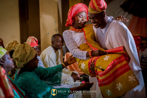 Nigerian Traditional Igbeyawo Seun and Tosin Seun Kilanko Studios LoveweddingsNG
