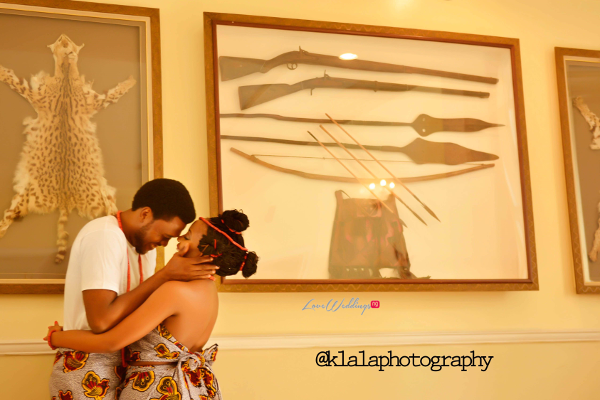 Nigerian Traditional Inspired Pre Wedding Shoot Eduabasi & Kido Klala Photography LoveweddingsNG 1
