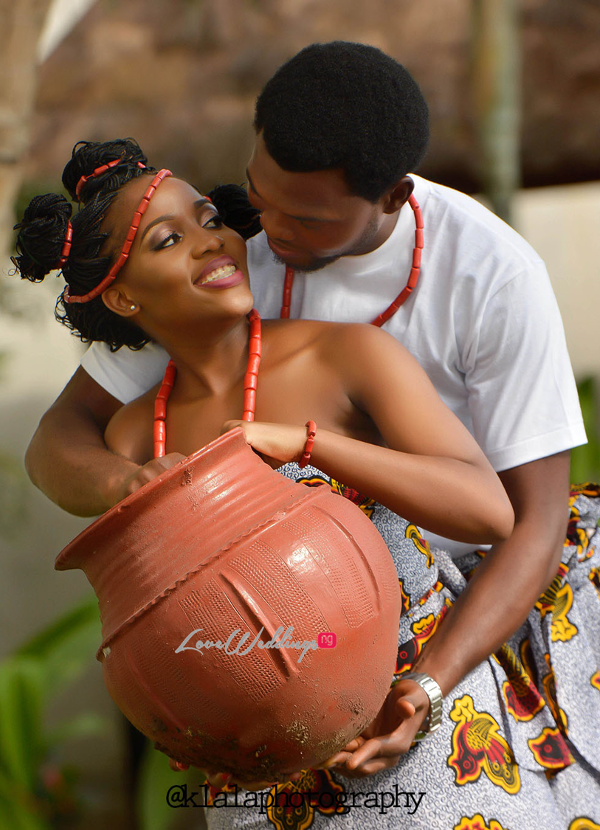 Nigerian Traditional Inspired Pre Wedding Shoot Eduabasi & Kido Klala Photography LoveweddingsNG 6