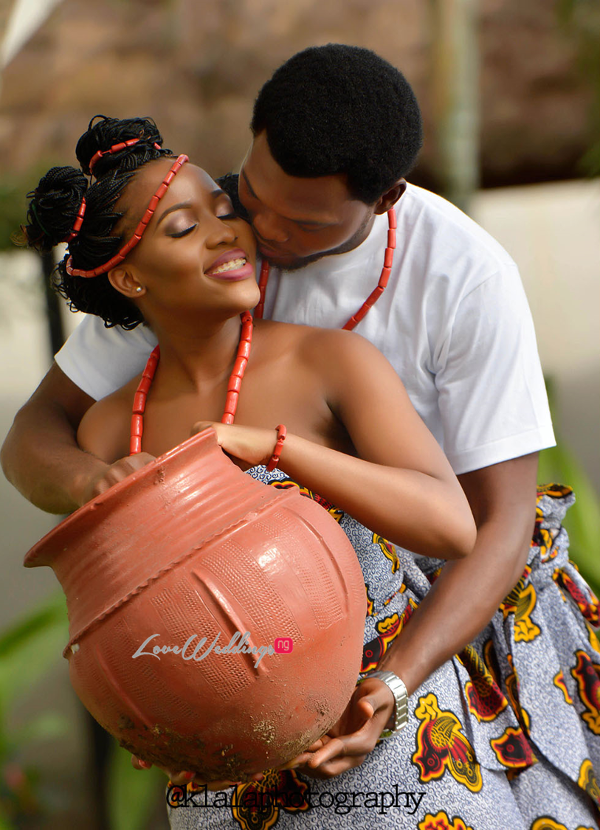 Nigerian Traditional Inspired Pre Wedding Shoot Eduabasi & Kido Klala Photography LoveweddingsNG 7