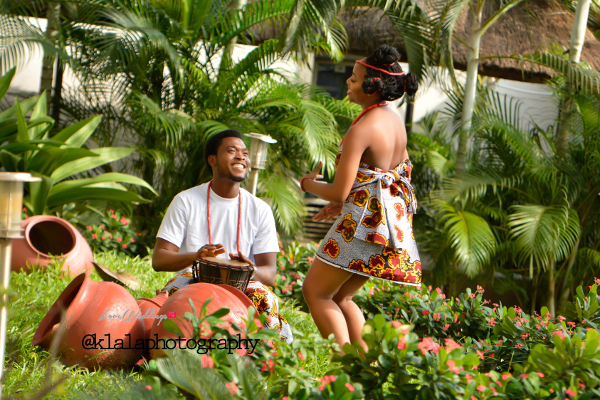 Nigerian Traditional Inspired Pre Wedding Shoot Eduabasi & Kido Klala Photography LoveweddingsNG 9