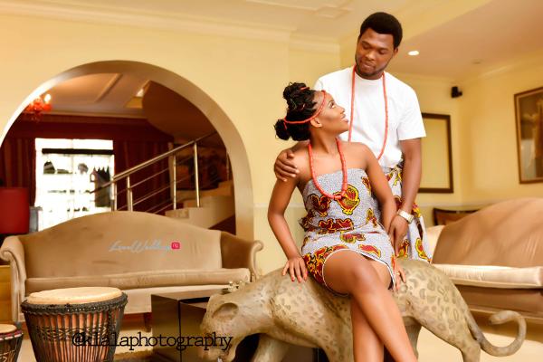 Nigerian Traditional Inspired Pre Wedding Shoot Eduabasi & Kido Klala Photography LoveweddingsNG
