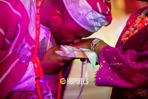 Nigerian Traditional Wedding Bride and Groom Dami & Tobi HB Pixels LoveweddingsNG 4