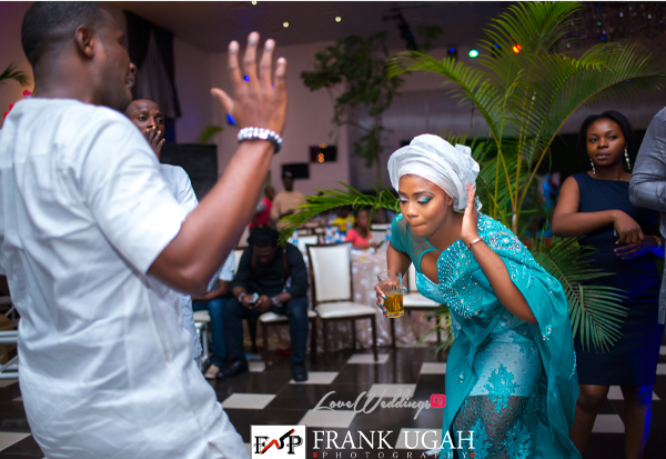 Nigerian Traditional Wedding Dance Kunbi Oyelese Lanre Tomori LoveweddingsNG