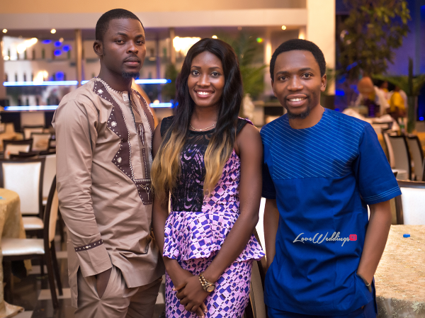 Nigerian Traditional Wedding Guests Kunbi Oyelese Lanre Tomori LoveweddingsNG 1