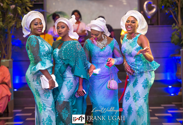 Nigerian Traditional Wedding Guests Kunbi Oyelese Lanre Tomori LoveweddingsNG