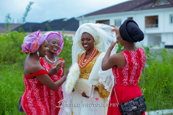 Nigerian Traditional Wedding Tope and Dami Diko Photography LoveweddingsNG 2