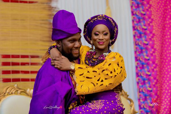 Nigerian Traditional Wedding in London Seun and Segun Bride and Groom LoveweddingsNG Dazzitto Photography