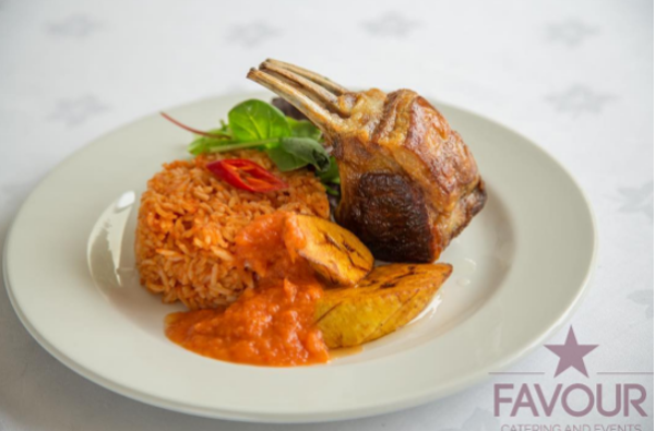 Nigerian UK Wedding Caterer Jollof Rice Favour Catering and Events LoveweddingsNG 1
