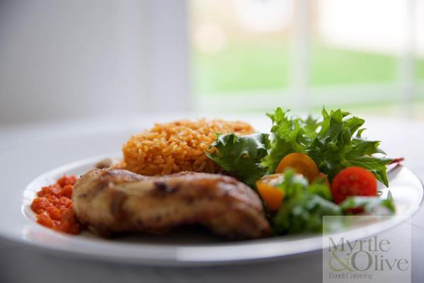 Nigerian UK Wedding Caterer Jollof Rice Myrtle Olive LoveweddingsNG 1