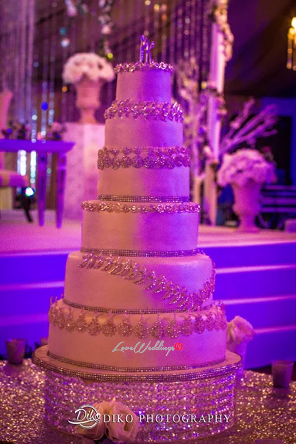 Nigerian Wedding Cake Judith & Kingsley Diko Photography LoveweddingsNG