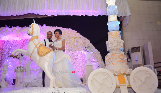 Nigerian Wedding Cake Sweet Indulgence Olamide Smith Udeme Williams LoveweddingsNG 1