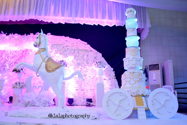 Nigerian Wedding Cake Sweet Indulgence Olamide Smith Udeme Williams LoveweddingsNG 2