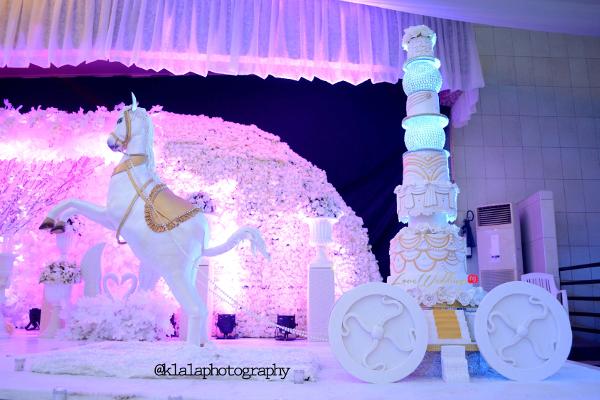 Nigerian Wedding Cake Sweet Indulgence Olamide Smith Udeme Williams LoveweddingsNG 2