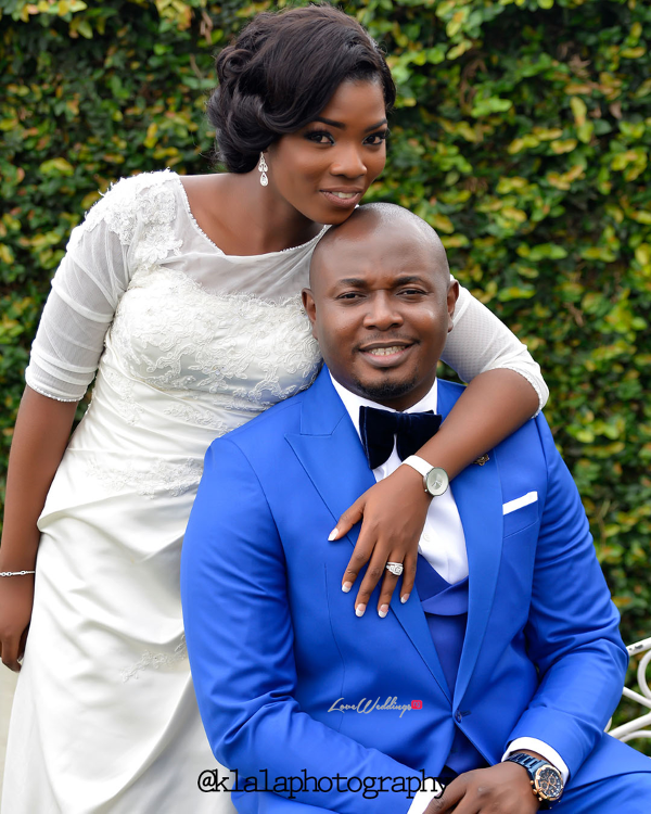 Nigerian Wedding Couple Bukky & Poju Klala Photography LoveweddingsNG 1