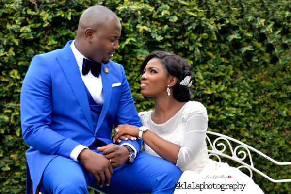 Nigerian Wedding Couple Bukky & Poju Klala Photography LoveweddingsNG 3