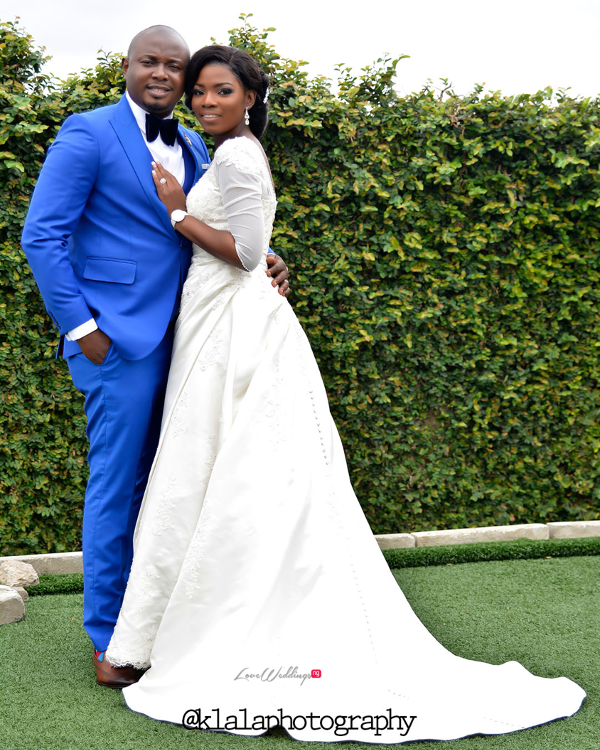 Nigerian Wedding Couple Bukky & Poju Klala Photography LoveweddingsNG