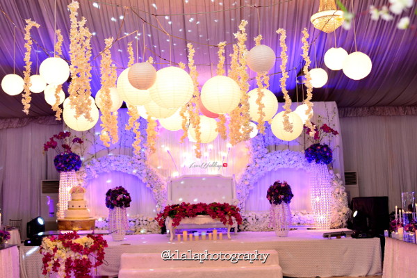 Nigerian Wedding Decor Bukky & Poju Klala Photography LoveweddingsNG