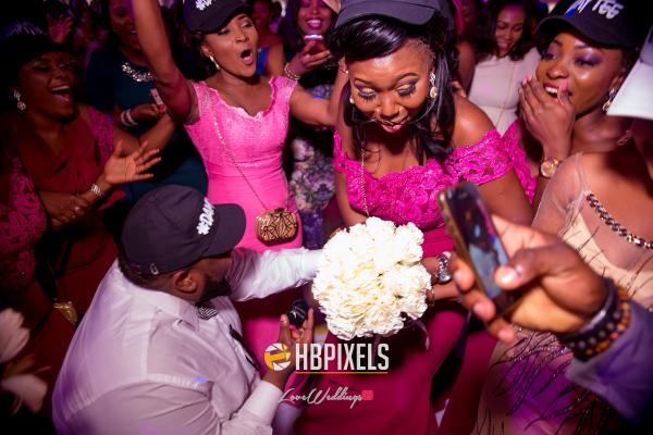 Nigerian Wedding Guests Dancing Dami and Tobi HB Pixels LoveweddingsNG