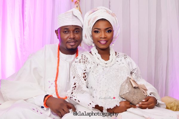 Nigerian Wedding Traditional Bride & Groom Bukky & Poju Klala Photography LoveweddingsNG 1