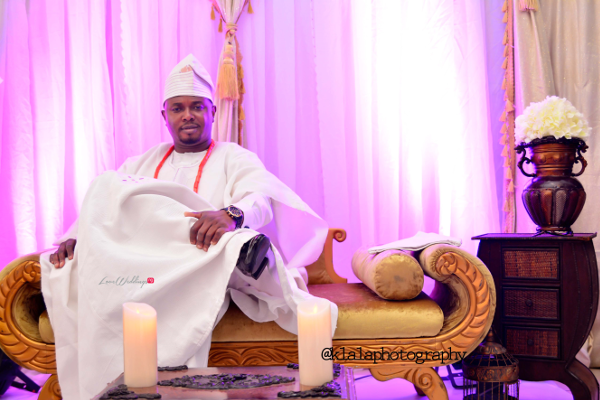 Nigerian Wedding Traditional Groom Bukky & Poju Klala Photography LoveweddingsNG
