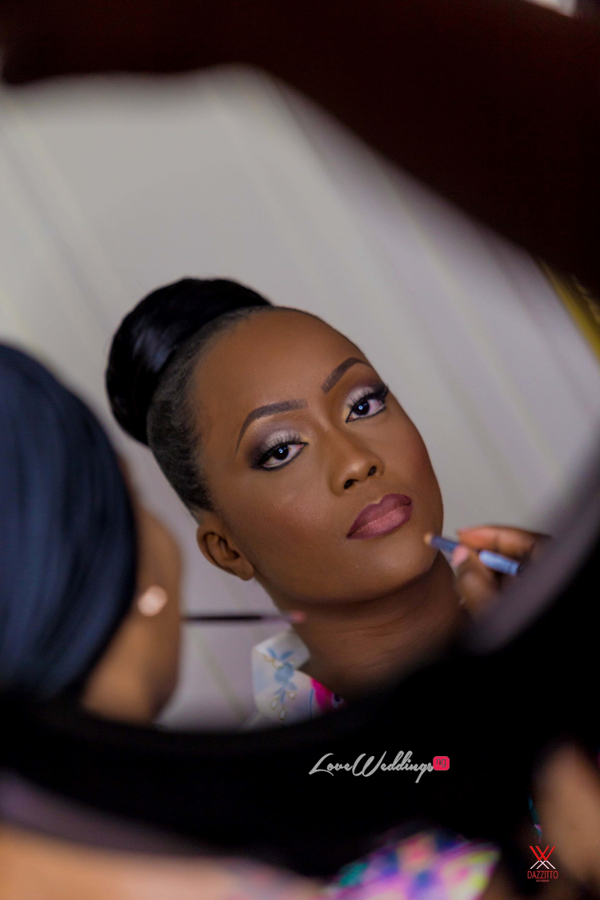 Nigerian Wedding in London Seun and Segun Bridal Makeup LoveweddingsNG Dazzitto Photography