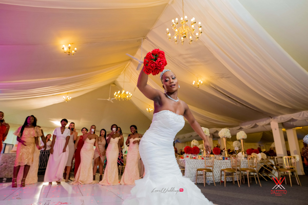 Nigerian Wedding in London Seun and Segun Bride Dancing LoveweddingsNG Dazzitto Photography