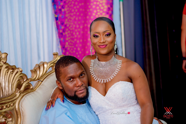Nigerian Wedding in London Seun and Segun Bride and Groom LoveweddingsNG Dazzitto Photography 10