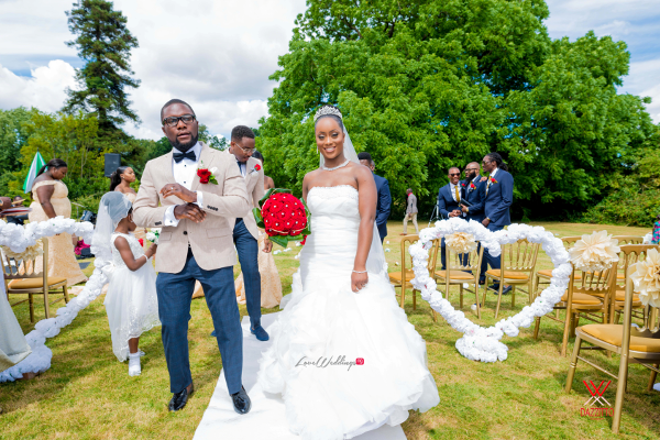 Nigerian Wedding in London Seun and Segun Bride and Groom LoveweddingsNG Dazzitto Photography 3