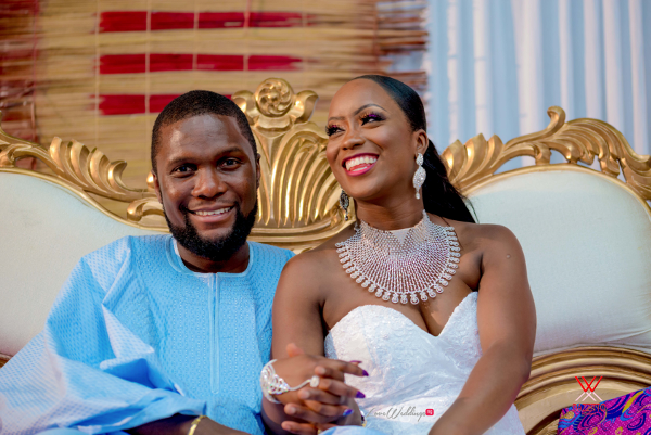 Nigerian Wedding in London Seun and Segun Bride and Groom LoveweddingsNG Dazzitto Photography 9