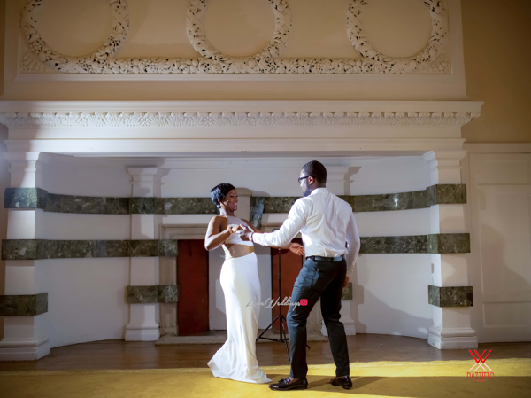 Nigerian Wedding in London Seun and Segun Dance LoveweddingsNG Dazzitto Photography