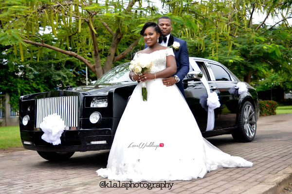 Nigerian White Wedding - Bride and Groom Folake and Ifeoluwa Klala Photography LoveweddingsNG 2