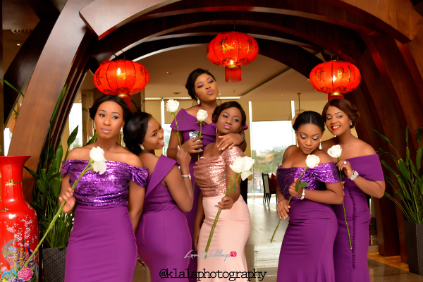 Nigerian White Wedding - Bridesmaids Folake and Ifeoluwa Klala Photography LoveweddingsNG 2