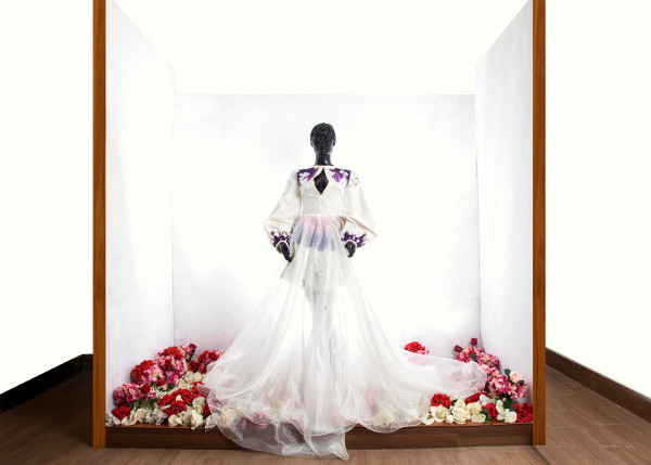 O'Saunders Dreamy Gardens of Marie - Autumn Winter 2016 LoveweddingsNG 20