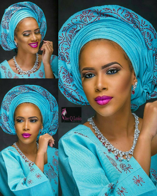 nigerian-blue-aso-oke-head-to-toe-bridal-inspiration-loveweddingsng-deeq-looks