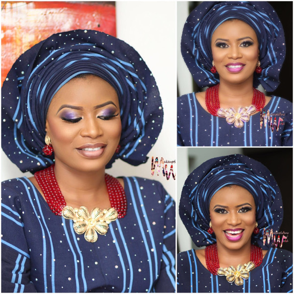 Nigerian Traditional Bridal Aso Oke Head to Toe LoveweddingsNG 1