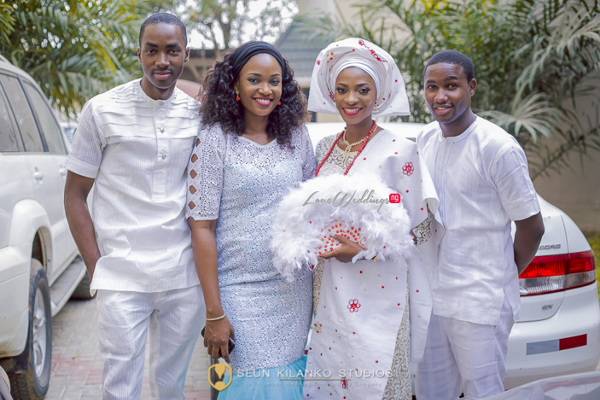 Nigerian Traditional Wedding Lamide and Biodun - Family Seun Kilanko Studios LoveweddingsNG