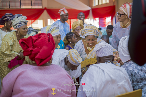 Nigerian Traditional Wedding Lamide and Biodun Seun Kilanko Studios LoveweddingsNG