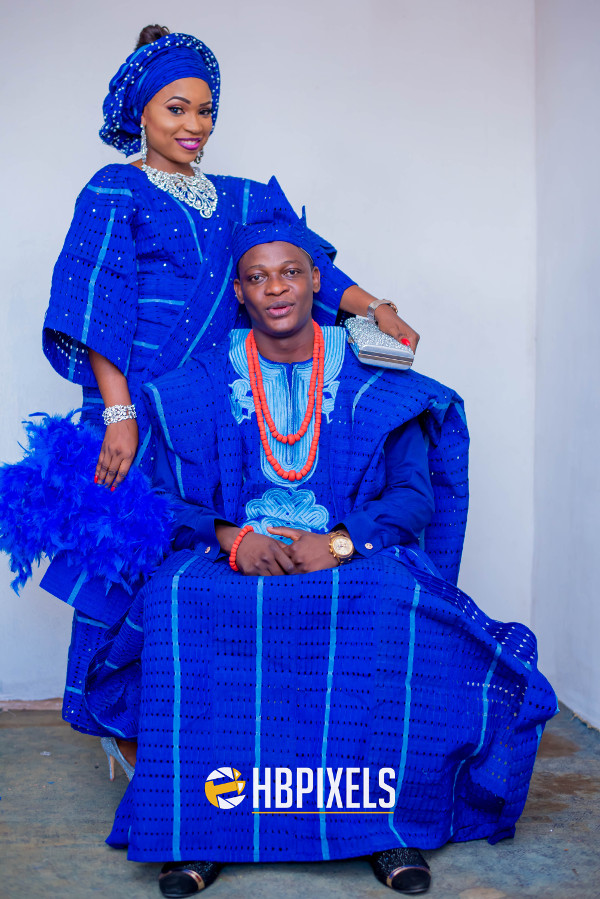Nigerian Traditional Wedding Outfit Aso Oke Head to Toe LoveweddingsNG