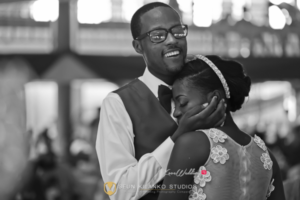 Nigerian White Wedding Bride and Groom Lamide and Biodun Seun Kilanko Studios LoveweddingsNG 6