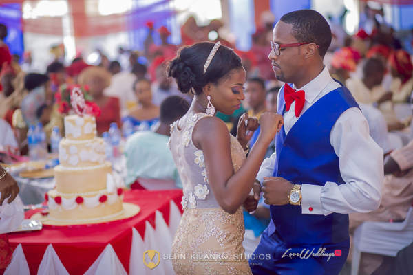 Nigerian White Wedding Bride and Groom Lamide and Biodun Seun Kilanko Studios LoveweddingsNG 7