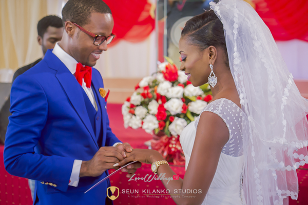 Nigerian White Wedding Bride and Groom Lamide and Biodun Seun Kilanko Studios LoveweddingsNG
