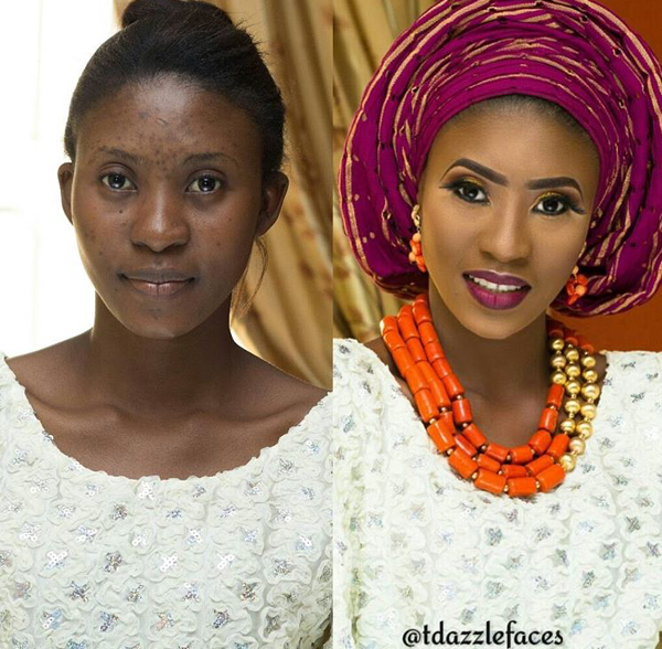 nigerian-bridal-makeover-before-and-after-tdazzle-faces-loveweddingsng