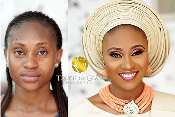 nigerian-bridal-makeover-before-and-after-touch-of-glam-makeover-loveweddingsng