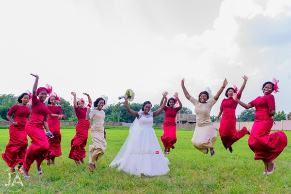 nigerian-bride-and-bridesmaids-jumping-therealoj2016-loveweddingsng