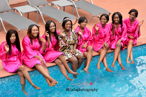 nigerian-bride-and-bridesmaids-in-robe-dora-and-ayo-klala-photography-loveweddingsng