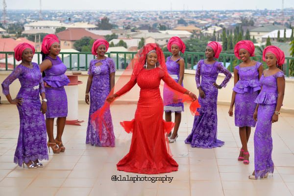 nigerian-traditional-bride-and-bridesmaids-dora-and-ayo-klala-photography-loveweddingsng-1