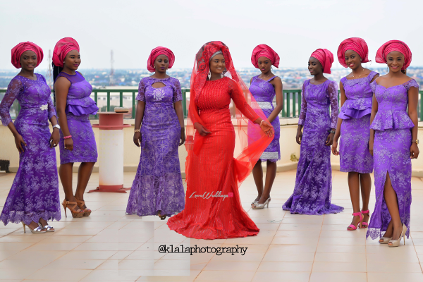 nigerian-traditional-bride-and-bridesmaids-dora-and-ayo-klala-photography-loveweddingsng