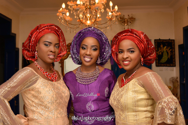nigerian-traditional-bride-and-friends-taiwo-and-kehinde-klala-photography-loveweddingsng