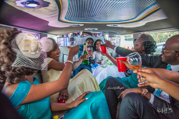 nigerian-couple-and-bridal-train-in-a-limousine-nkem-and-lanre-events-pro-loveweddingsng-1